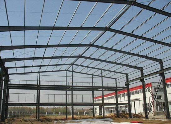 Compact Steel Structure Warehouse