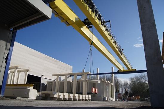 Compact Structure Double Girder Crane