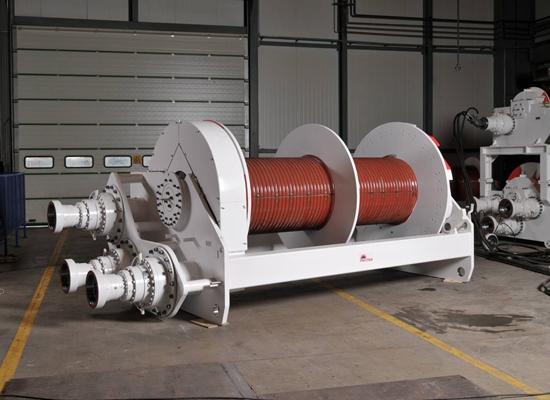 Double Drum Hydraulic Winch