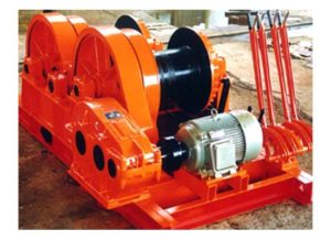 Double Drum Winch AQ-JKL Winch