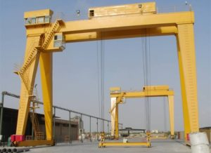 Double Girder Gantry Crane High Safety