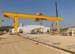 Double Girder Workshop Gantry Crane