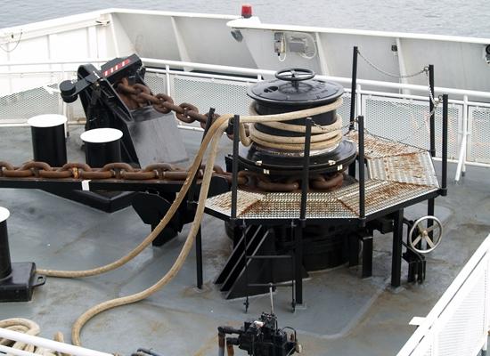 Durable Hydraulic Capstan Winch