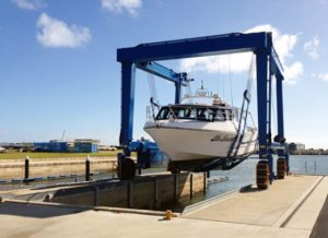 Durable Mobile Boat Crane