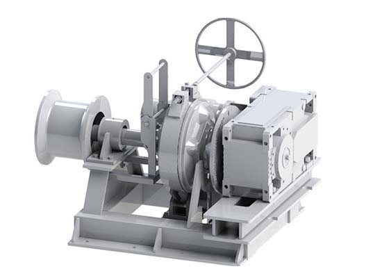 Electric Boat Anchor Winch