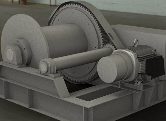 Electric Boat Winch Large Capacity