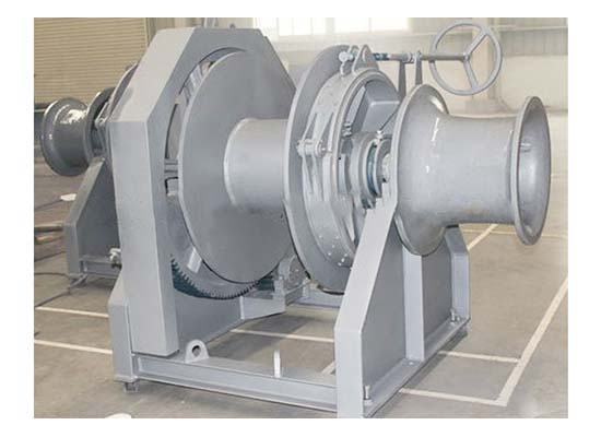 Electric Boat Winch Mooring Winch