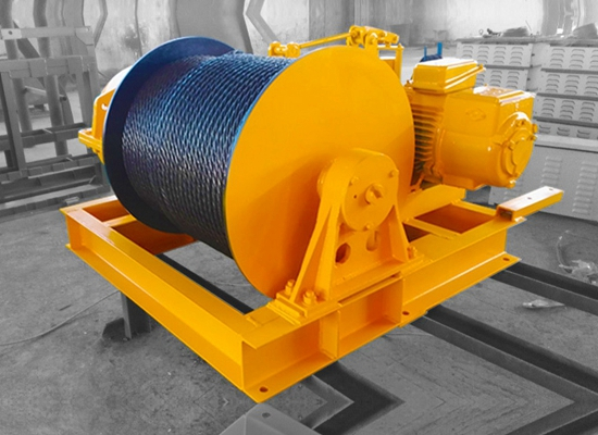 Electric Wire Rope Winch JK Winch