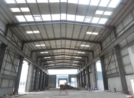 Firm Steel Structure Workshop