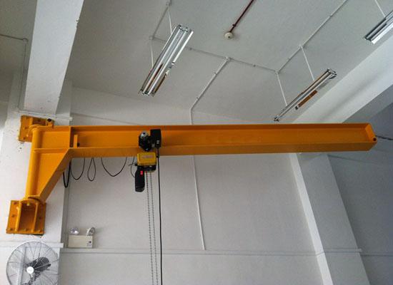 Fixed Wall Mounted Jib Crane