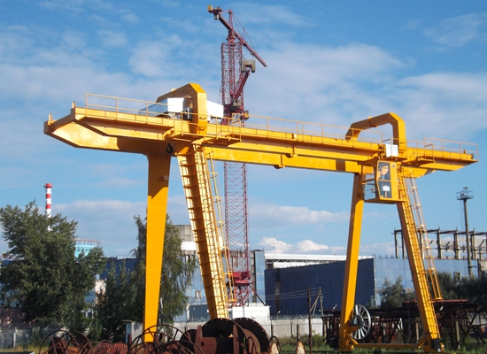 Flexible Rail Mounted Crane