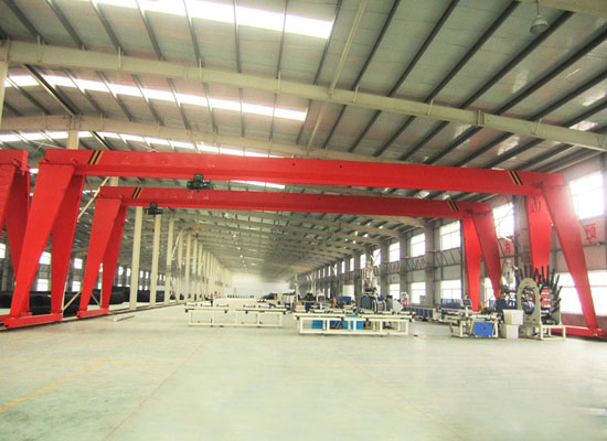 Flexible Single Girder Gantry Crane