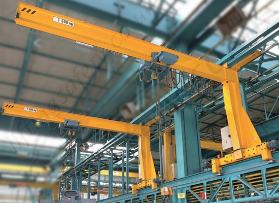 Flexible Wall Mounted Jib Crane