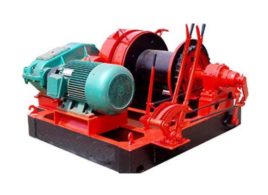 Free Fall Piling Winch 10 Ton