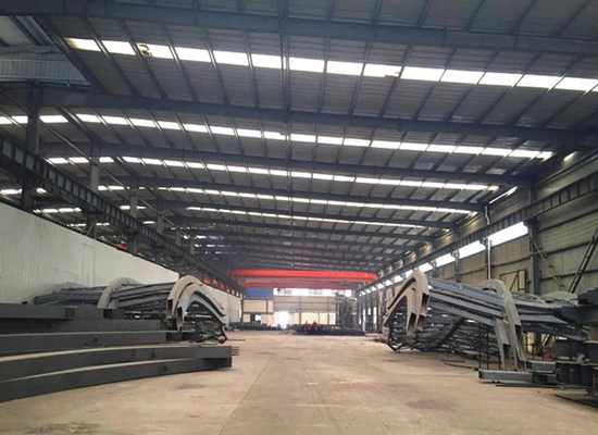 Heavy Duty Industrial Steel Structures