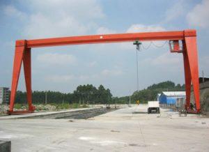 Hoist Single Girder Gantry Crane For Sale
