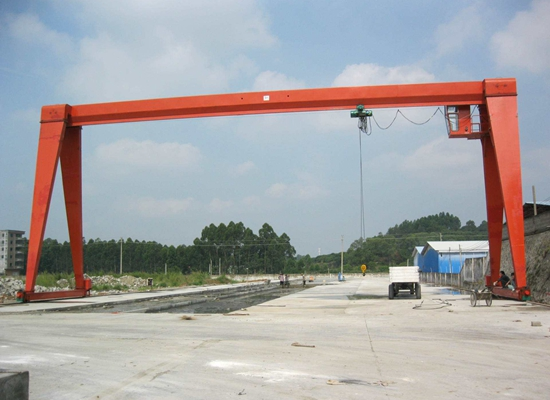 Hoist Single Girder Gantry Crane For Sale