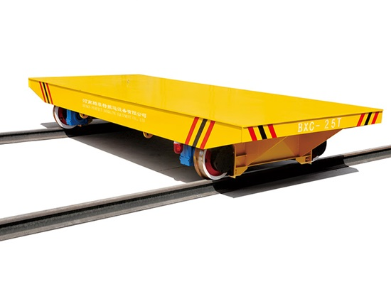 Industrial Rail Transfer Cart
