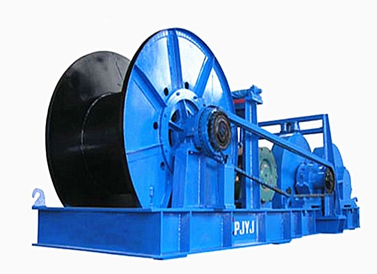 JMM Heavy Duty Rope Winch