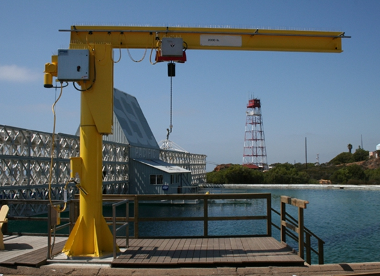 Large Pillar Jib Crane For Sale