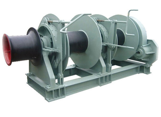 Marine Winch Double Drum Mooring Winch
