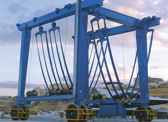 Mobile Boat Crane Gantry Crane