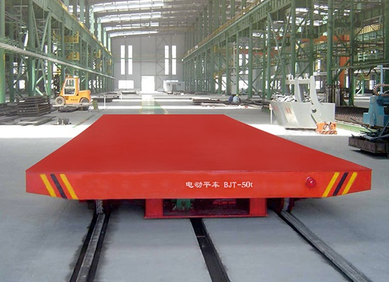 Motorized Rail Transfer Cart
