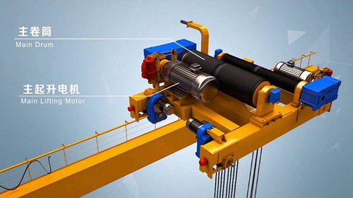 Compact Single Girder Crane