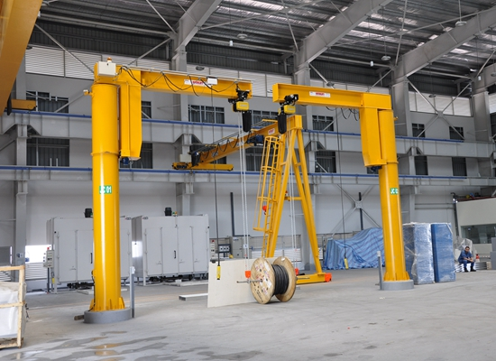 Pillar 5 Ton Jib Crane