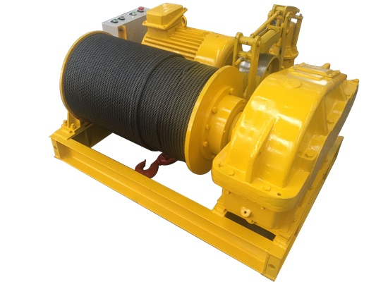 Portable Wire Rope Winch