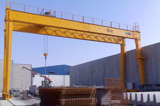 Rail Traveling Double Girder Crane