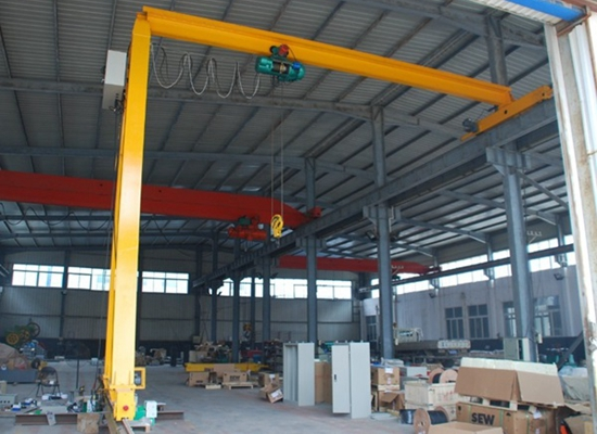 Rail Type Semi Girder Gantry Crane