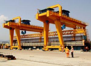 Reliable Rail Mounted Gantry Crane