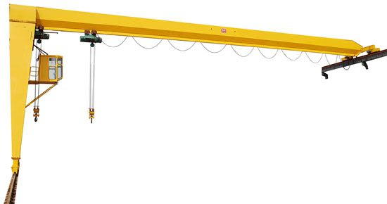 Semi Gantry Crane Easy Use