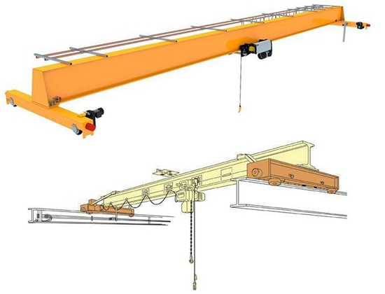 Simple Use 2 Ton Crane