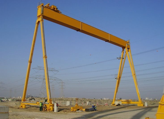 Single Girder Workshop Gantry Crane