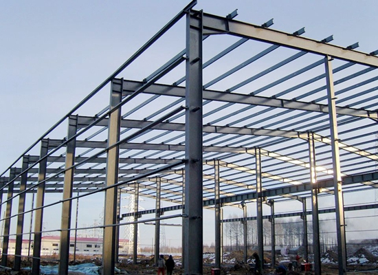Steel Structure Workshop-Industrial Building High Safety Long Use Life