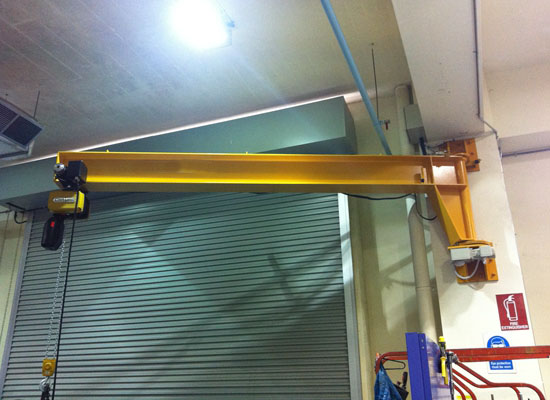 Stable Wall Mounted Jib Crane