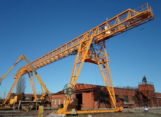 Truss Single Girder Crane For Sale