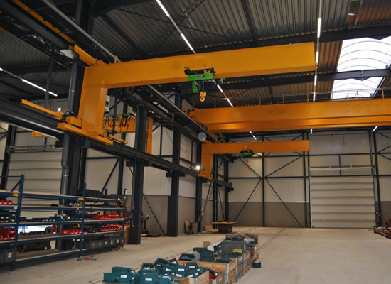 Wall Traveling Type Jib Crane