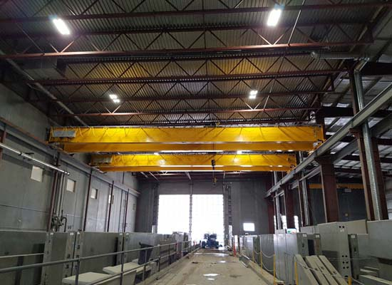 40 Ton Top Running Crane