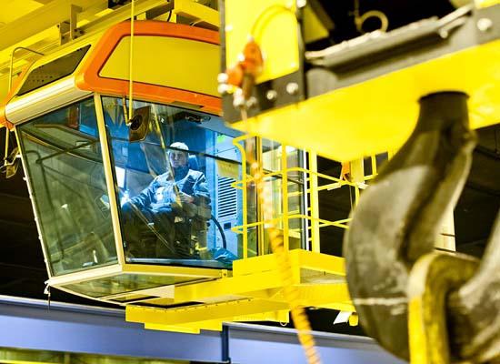 Cabin Control 20 Ton Crane