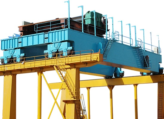 Electric 50 Ton Bridge Crane