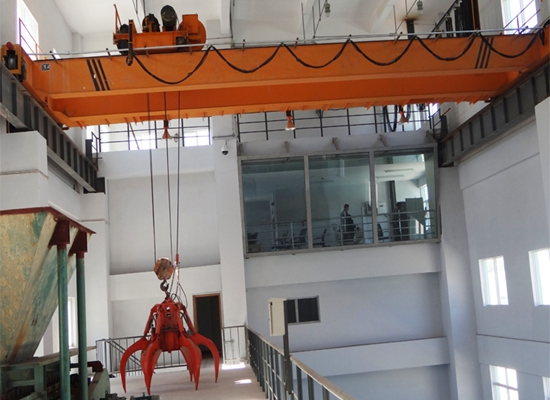 Grab Overhead Travelling Cranes