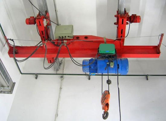 Indoor Underhung Bridge Crane For Sale