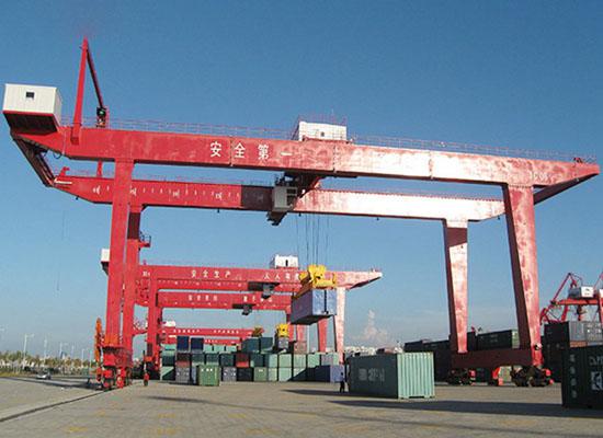 Rail 15 Tonne Gantry Crane