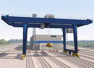 Rail Mounted 15 Ton Gantry Crane