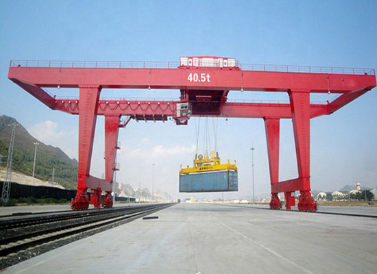 Rail Type Container Gantry Crane