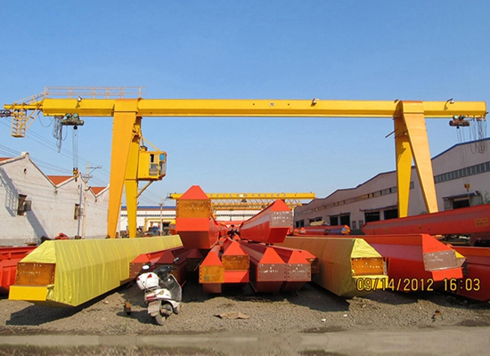 Single Girder 10 Ton Gantry Crane