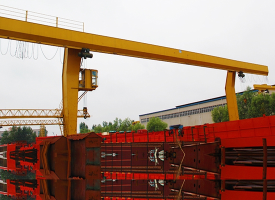 Single Girder 12 Ton Gantry Crane